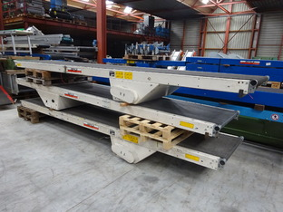 3x lopende band x 800 mm